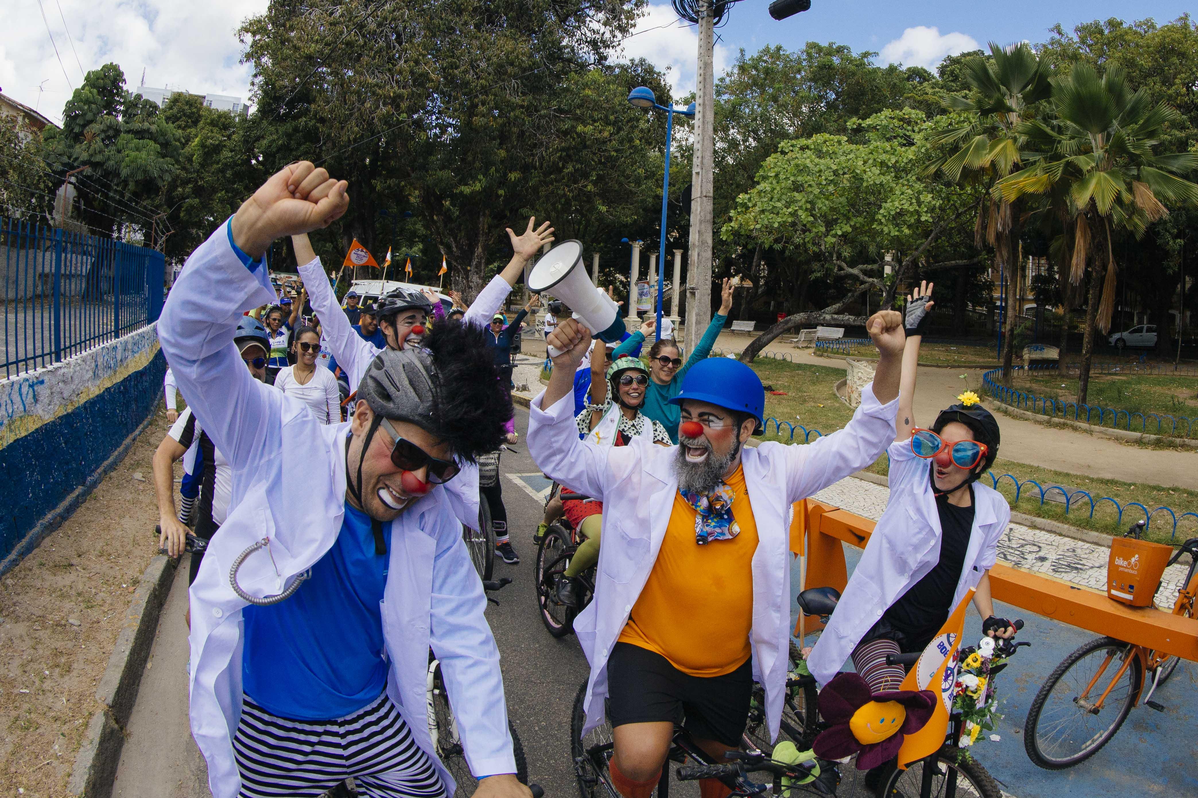 Passeio é aberto ao público. Foto: Doutores da Alegria/Divulgação (Passeio é aberto ao público. Foto: Doutores da Alegria/Divulgação)