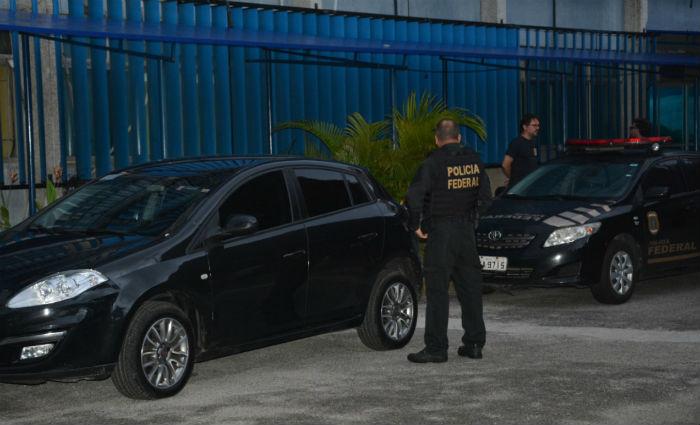 Operação da PF prende ex-prefeito de Lagoa do Carro. Foto: PF/ Divulgação