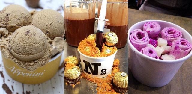 Dia Nacional do Sorvete, celebrado no dia 23 de setembro, incentiva o consumo do produto. Foto: Divulgação/Appenini/N2/Thai Thai