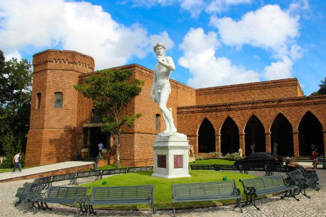 Museu foi fundado em 2002 e se divide em vários ambientes. Foto: Paloma Amorim/Divulgação