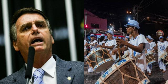 Material tem cerca de cinco minutos. Foto: Marcelo Camargo/Agência Brasil e Facebook/Reprodução