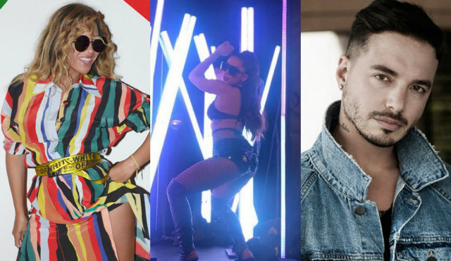 Artistas colaboraram para remix do hit J Balvin. Fotos: Instagram/Reprodução e Universal/Divulgação