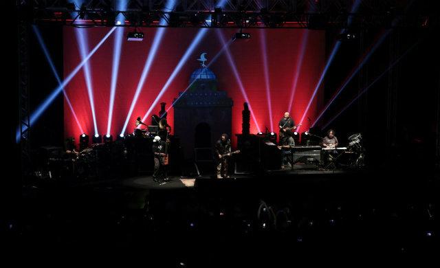 O Rappa fez o último show agendado no Estado nesta sexta-feira. Foto: Charles Johnson/Divulgação