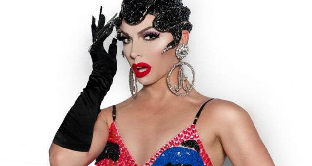 Alyssa Edwards participa do reality show RuPaul's Drag Race e foi uma das retratadas. Fotos: Fernando Cysneiros/The Drag Series