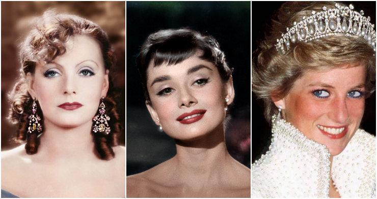 Greta Garbo, Audrey Hepburn e Lady Di são algumas das principais referências de estilo destrinchadas pela escritora. Fotos: Reprodução da internet