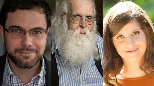 José Luiz Passos, Francisco Brennand e Clarice Freire estão entre os finalistas. Foto: Fernanda Fiamoncini, Factoria Comunicação e Leo Aversa/Divulgação