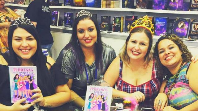 Larissa Siriani, Janaina Rico, Mila Wander e Thati Machado estarão na Bienal Pernambuco. Foto: Facebook/Reprodução