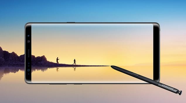 Note 8 passou por oito pontos de checagem de bateria para anular qualquer novo risco aos usuários. Foto: Samsung Brasil/Divulgação (Note 8 passou por oito pontos de checagem de bateria para anular qualquer novo risco aos usuários. Foto: Samsung Brasil/Divulgação)