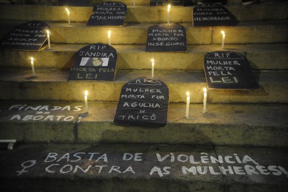 Em todo o Brasil, uma em cada três mulheres sofreu algum tipo de violência no último ano. Foto: Fernando Frazão/Agência Brasil