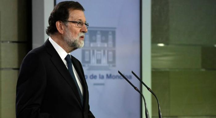 A Comissão Europeia mantém-se firmemente ao lado do premiê da Espanha, Mariano Rajoy, em sua disputa com a região da Catalunha. Foto: Javier Soriano/AFP