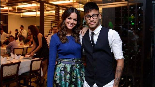 Os dois foram vistos juntos no casamento de Marina Ruy Barbosa. Foto: Gshow/Reprodução