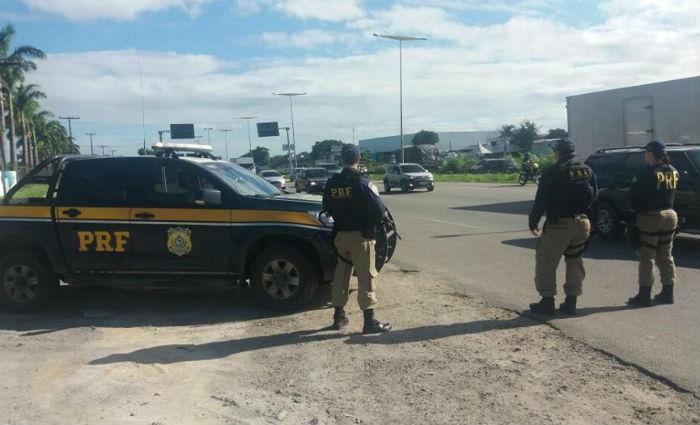 Feriadão com reforço de fiscalização nas estradas . Foto: PRF/ Divulgação