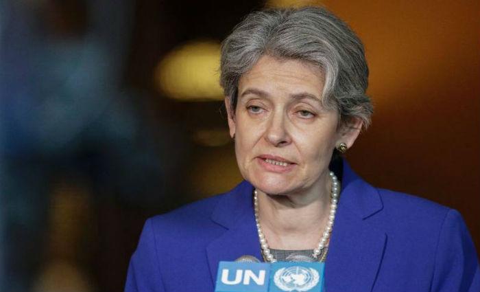 """Irina Bokova, diretora-geral da Unesco, afirmou """"lamentar profundamente"""" a decisão dos EUA. Foto: AFP Photo/Kena Betancur"""