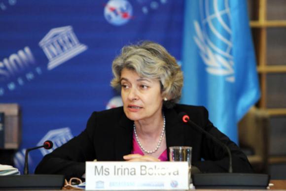 Diretora-geral da UNESCO, Irina Bokova. Foto: Unesco/Divulgação