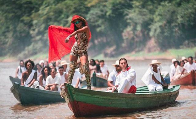 Floresta Amazônica foi locação escolhida para captar imagens. Foto: Instagram/Reprodução