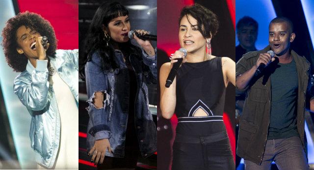 Participantes cantaram MPB, rock, pop e rap na quarta noite de audições. Fotos: Raphael Dias/TV Globo