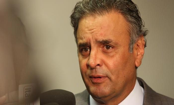 Aécio recebeu 18 dos 20 votos do PMDB, o partido de Michel Temer. Foto: George Gianni/PSDB