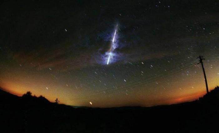 Durante o pico da chuva, poderão ser vistos entre 20 e 25 meteoros por hora. (Foto meramente ilustrativa) Foto: NASA/Reprodução