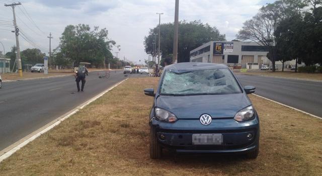 O acidente ocorreu na tarde de sábado (21), na 406/407 Norte. Foto: Josi Paz