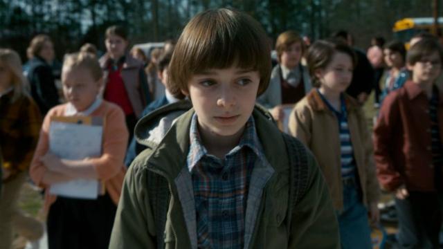 Noah como Will, em Stranger things. Foto: Netflix/Divulgação