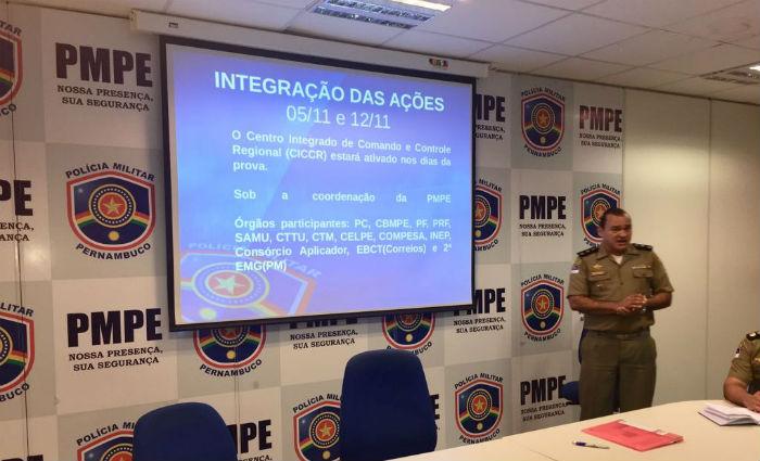 Quase três mil PMs farão segurança do Enem em Pernambuco. Foto: PM/ Divulgação