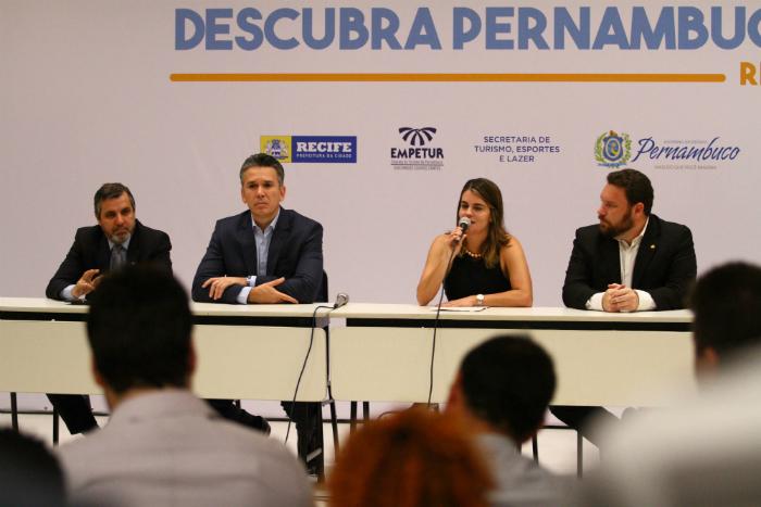 Anúncio foi feito em coletiva de imprensa nesta quarta. Foto: Peu Ricardo/DP (Anúncio foi feito em coletiva de imprensa nesta quarta. Foto: Peu Ricardo/DP)