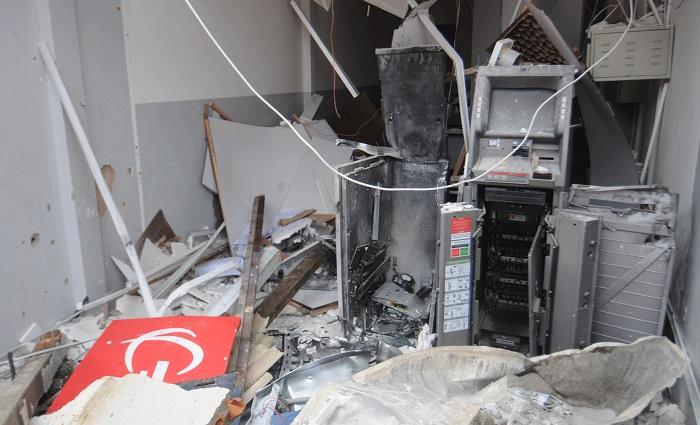 A maioria das agências fechou após assalto com explosivos. Foto: arquivo/DP
