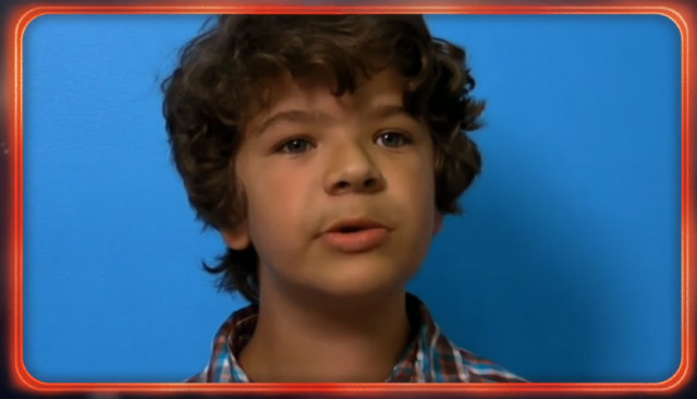 Gaten Matarazzo interpreta Dustin, um dos personagens favoritos do público de Stranger Things. Foto: YouTube/Reprodução