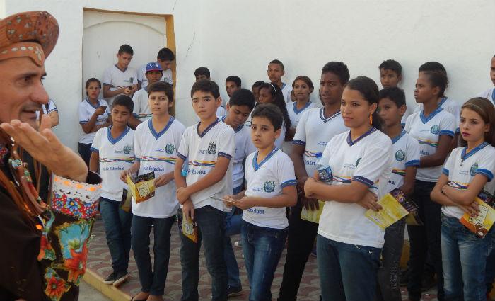 Alunos de Triunfo vivenciam a história do Cangaço e de Lampião em Serra Talhada. Foto:Sebastião Costa/ Divulgação