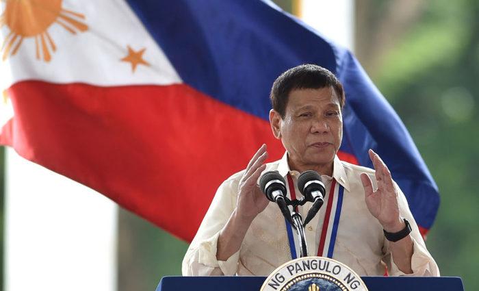 Duterte, de 72 anos, foi eleito em 2016 após prometer que erradicaria o narcotráfico no país. Foto: Ted Aljibe/AFP Photo
