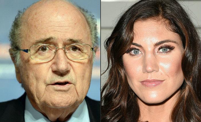 Blatter foi presidente da Fifa de 1998 até 2015, quando foi banido por corrupção. Foto: AFP