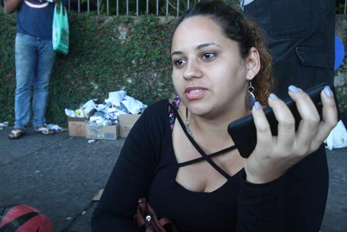 Viviane achou a prova trabalhosa. Foto: Roberto Ramos/DP