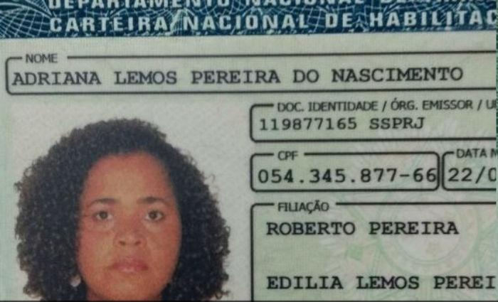 Adriana Lemos Pereira do Nascimento e o marido, Anderson Lima do Nascimento, não resistiram aos ferimentos. Foto: Reprodução/ Internet