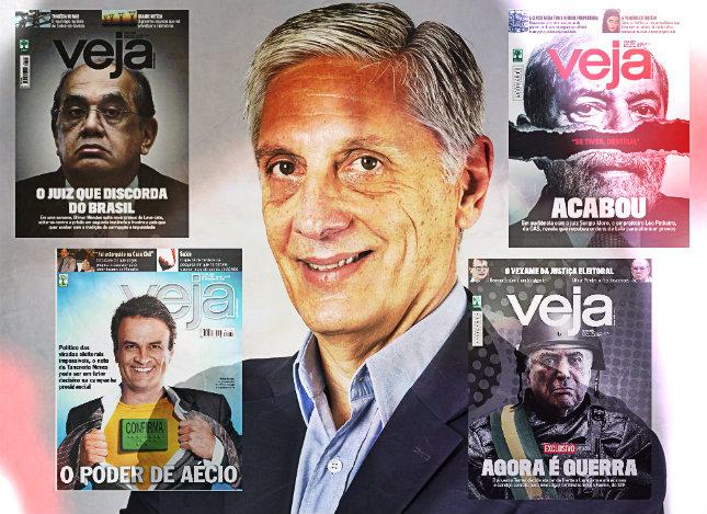 Arnaldo Figueiredo ocupa a vice-presidência da instituição por 15 anos. Foto: Abril/Divulgação/Montagem/DP