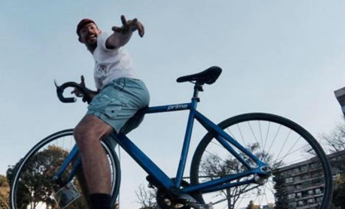 Raul Aragão será homenageado pela família, amigos e ciclistas na Praça de Casa Forte. Foto: Reprodução/ Facebook