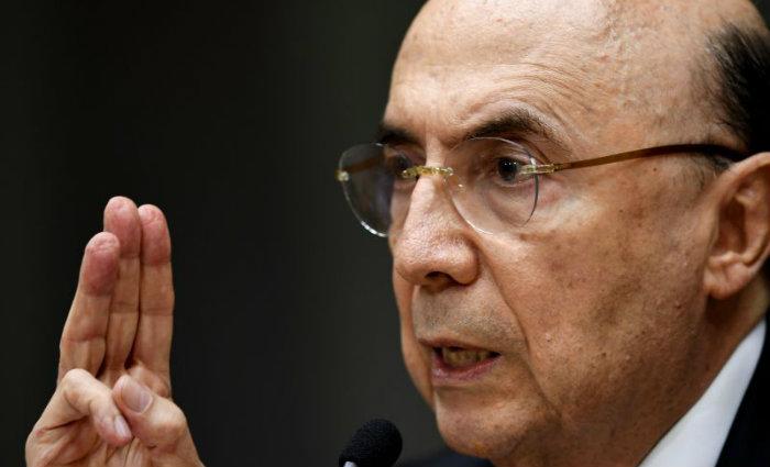Ministro da Fazenda Henrique Meirelles. Foto: Evaristo Sa/AFP
