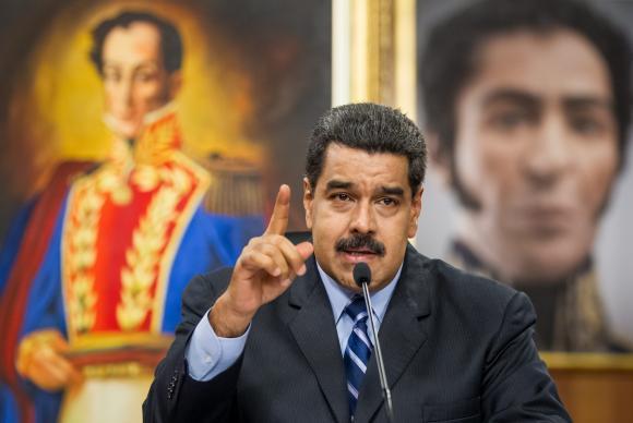 Nicolás Maduro. Foto:Miguel Gutierrez/Agência Lusa