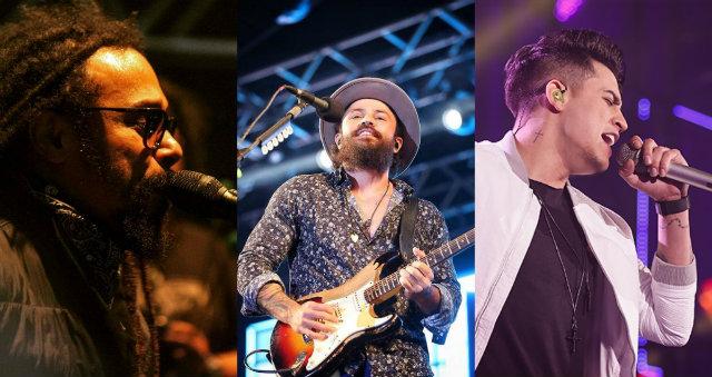 O Rappa, Jorge & Mateus e Jefferson Moraes são algumas das atrações. Fotos: Facebook/Reprodução