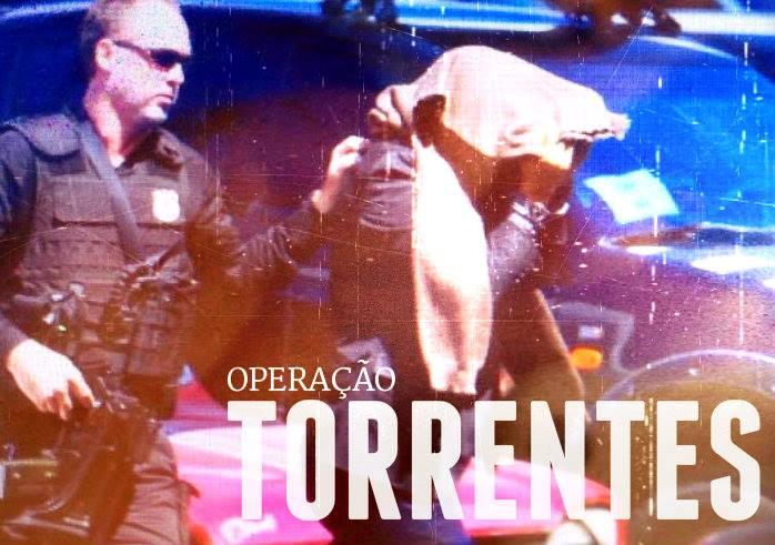 Libertados 13 dos 15 presos pela PF Federal na Operação Torrentes. Foto: Peu Ricardo/ Arte DP