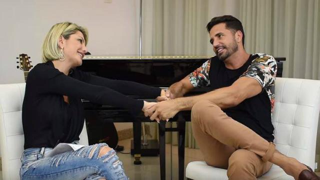 O cantor também falou sobre o seu relacionamento com as suas ex-companheiras. Foto: YouTube/Reprodução