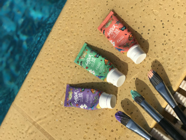 O produto aparece em três cores exclusivas: lilás, salmão e verde. Foto: Shock/Divulgação