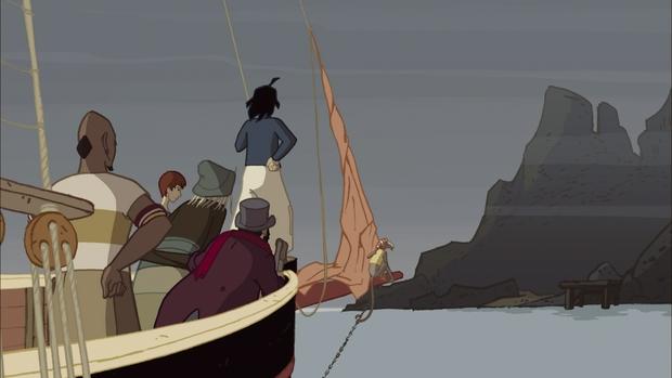 A Ilha de Black Mór (2004) é o primeiro filme exibido na mostra. Foto: Animage/Divulgação