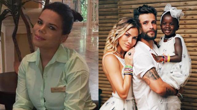 Day McCarthy já havia chamado a filha de Roberto Justus e Ticiane Pinheiro de 'Chucky'. Foto: Instagram/Reprodução