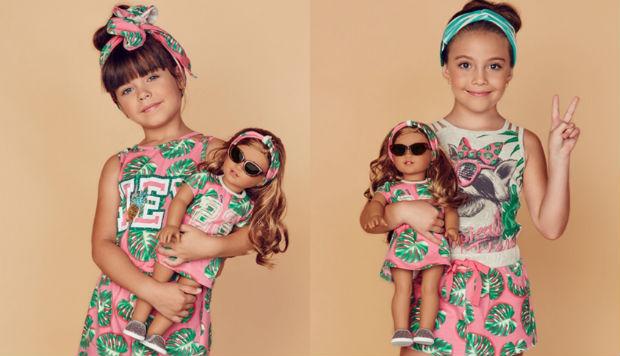 As peças estão disponíveis nas unidades da Villa Kids em Boa Viagem, no Espinheiro e nas Graças. Foto: Villa Kids/Divulgação