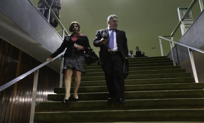 Os  ex-governadores  do  Rio  Rosinha  e  Anthony  Garotinho.  Fabio  Rodrigues  Pozzebom/Arquivo/Agência  Brasil