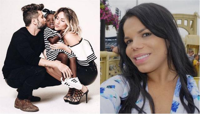 Bruno Gagliasso e Giovanna Ewbank prestaram queixa contra Dayane. Fotos: Instagram/Reprodução