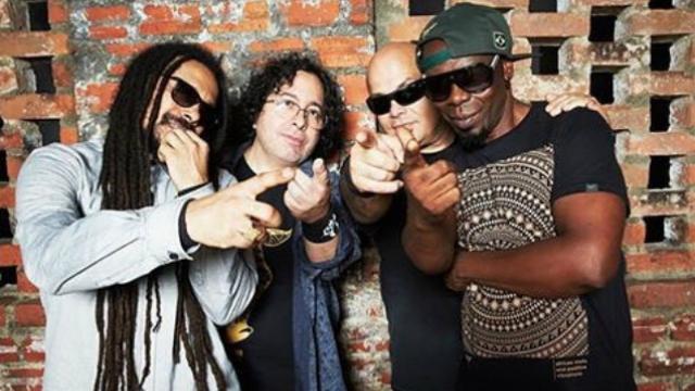 Marcelo Falcão, Marcelo Lobato, Lauro Farias, e Xandão Meneses compõem a atual formação da banda. Foto: Instagram/Reprodução