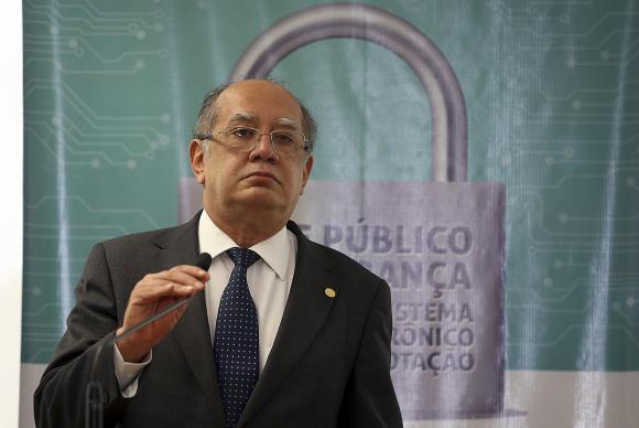 """Gilmar Mendes afirmou que """"não há motivo"""" para preocupação com as falhas detectadas. Foto: José Cruz/Agência Brasil"""