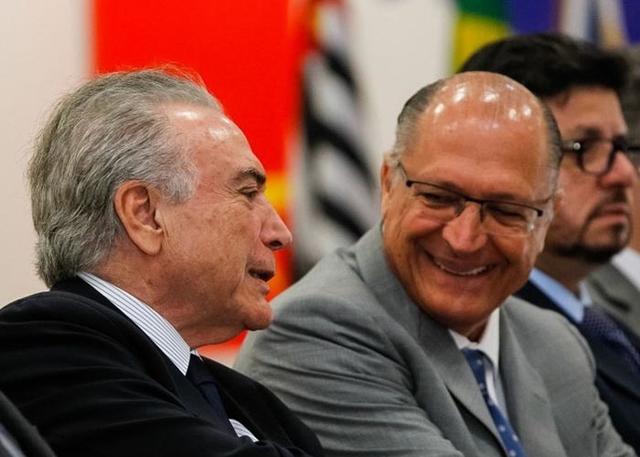 Temer e Alckmin vão se encontrar hoje em São Paulo. Foto: Marcos Corrêa/PR