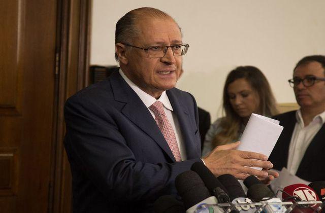 Geraldo Alckmin deve ser eleito presidente do PSDB, por aclamação, em convenção marcada para o próximo dia 9. Foto: Secom/SP ( )